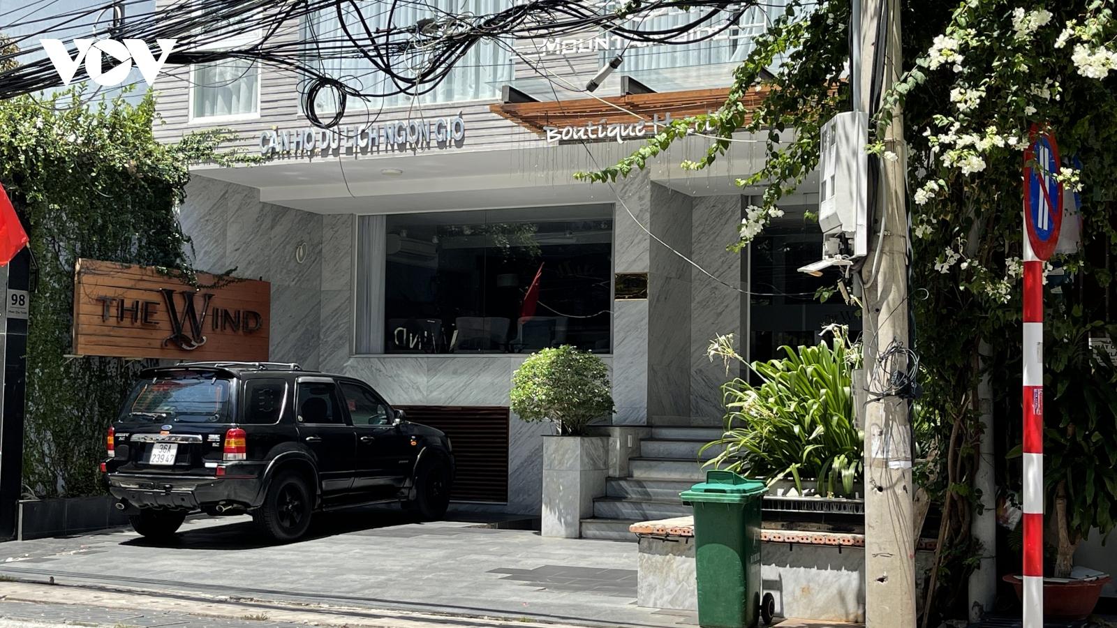 Gỡ bỏ phong toả 1 khách sạn ở Vũng Tàu