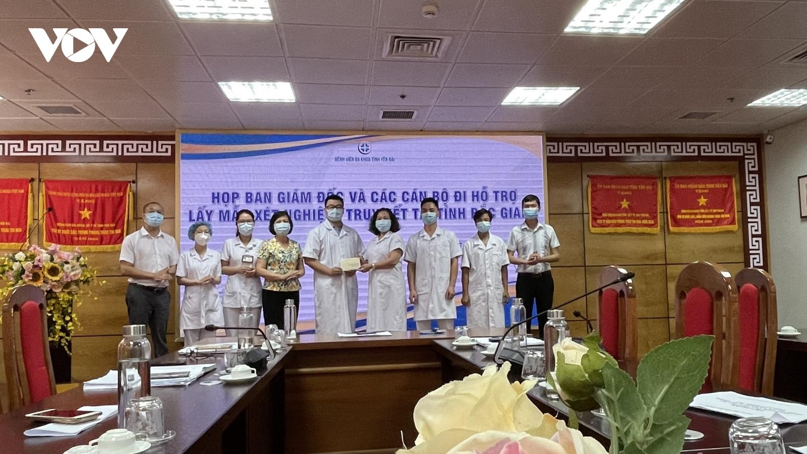 Yên Bái cử đoàn công tác thứ 2 hỗ trợ Bắc Giang điều trị bệnh nhân Covid-19