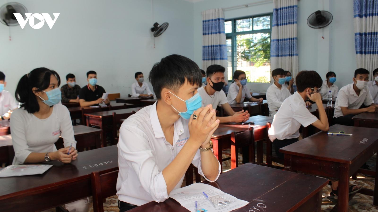 2 địa phương của Quảng Nam giáp Đà Nẵng chưa thể cho học sinh thi học kỳ 2