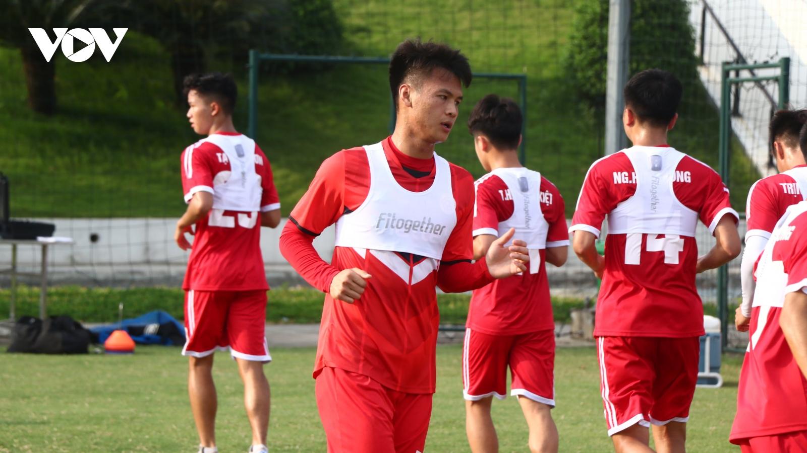 Hướng tới AFC Champions League, Viettel FC áp dụng công nghệ số vào tập luyện
