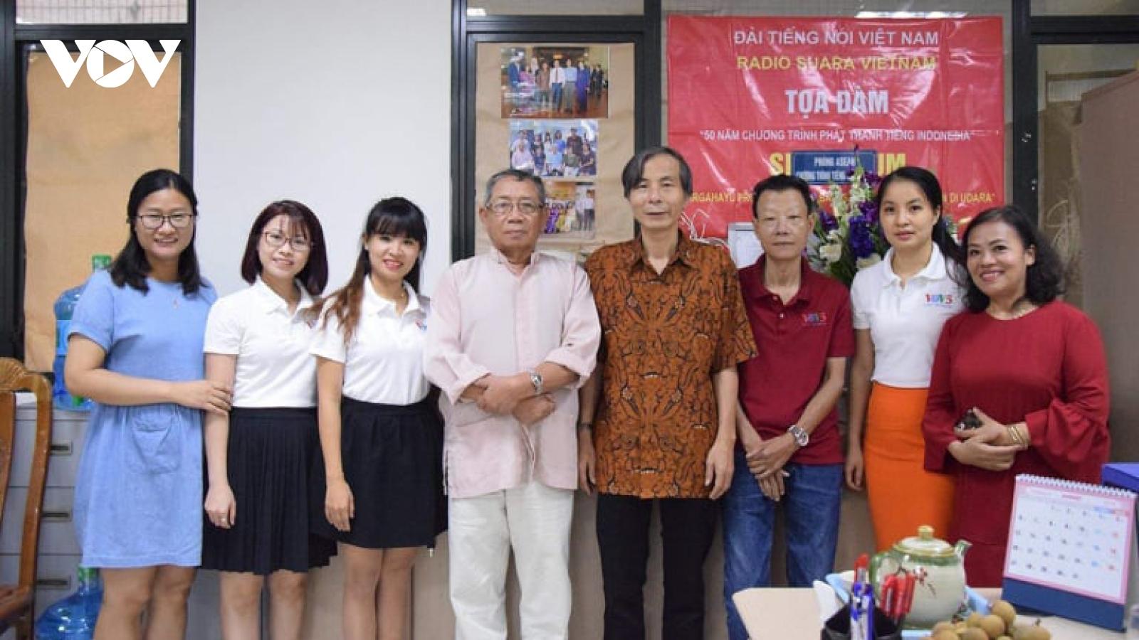 55 năm VOV phát thanh tiếng Indonesia với sự đồng hành của thính giả quốc gia vạn đảo