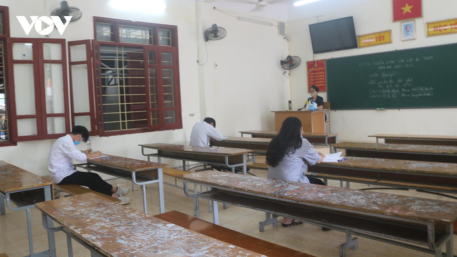 Hội đồng thi đặc biệt chỉ với 9 thí sinh trong kỳ thi vào lớp 10 tại Hải Phòng