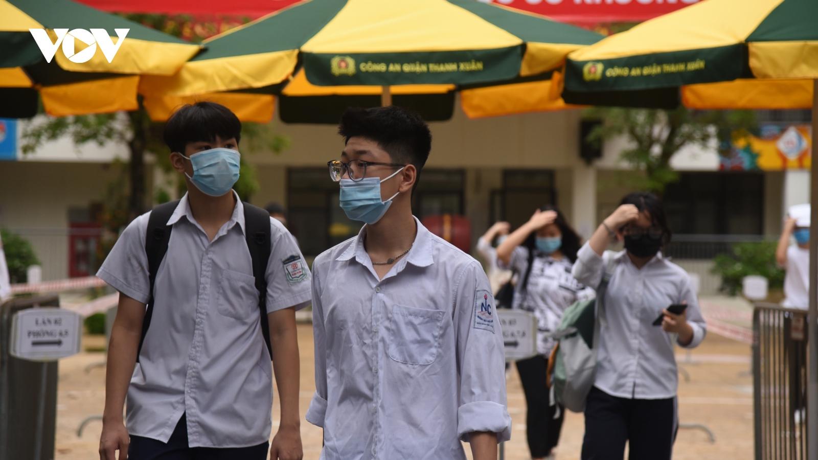 Đáp án môn tiếng Anh thi vào lớp 10 tại Hà Nội
