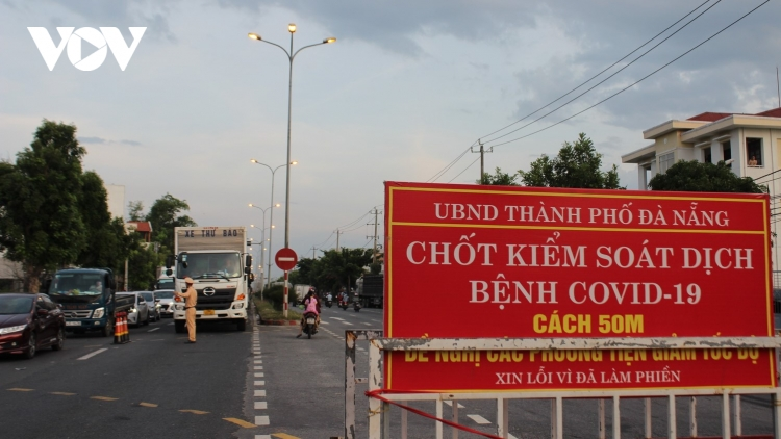 Kiểm soát dịch tại các cửa ngõ ra vào Đà Nẵng là nhiệm vụ quan trọng