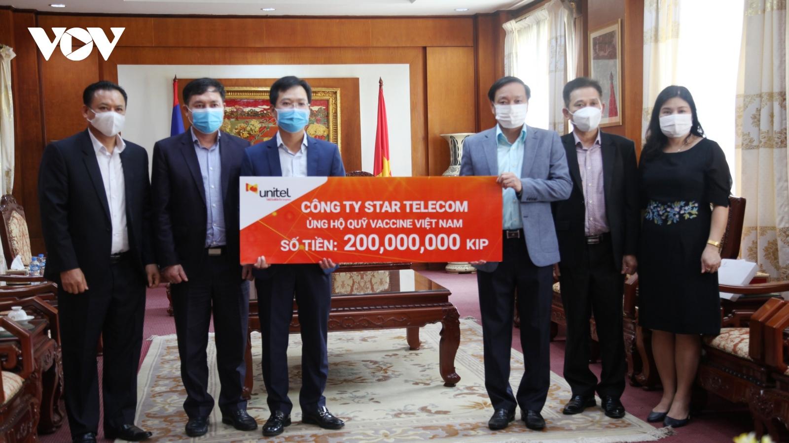 Lào ủng hộ 300 triệu kip hỗ trợ Việt Nam chống dịch Covid-19