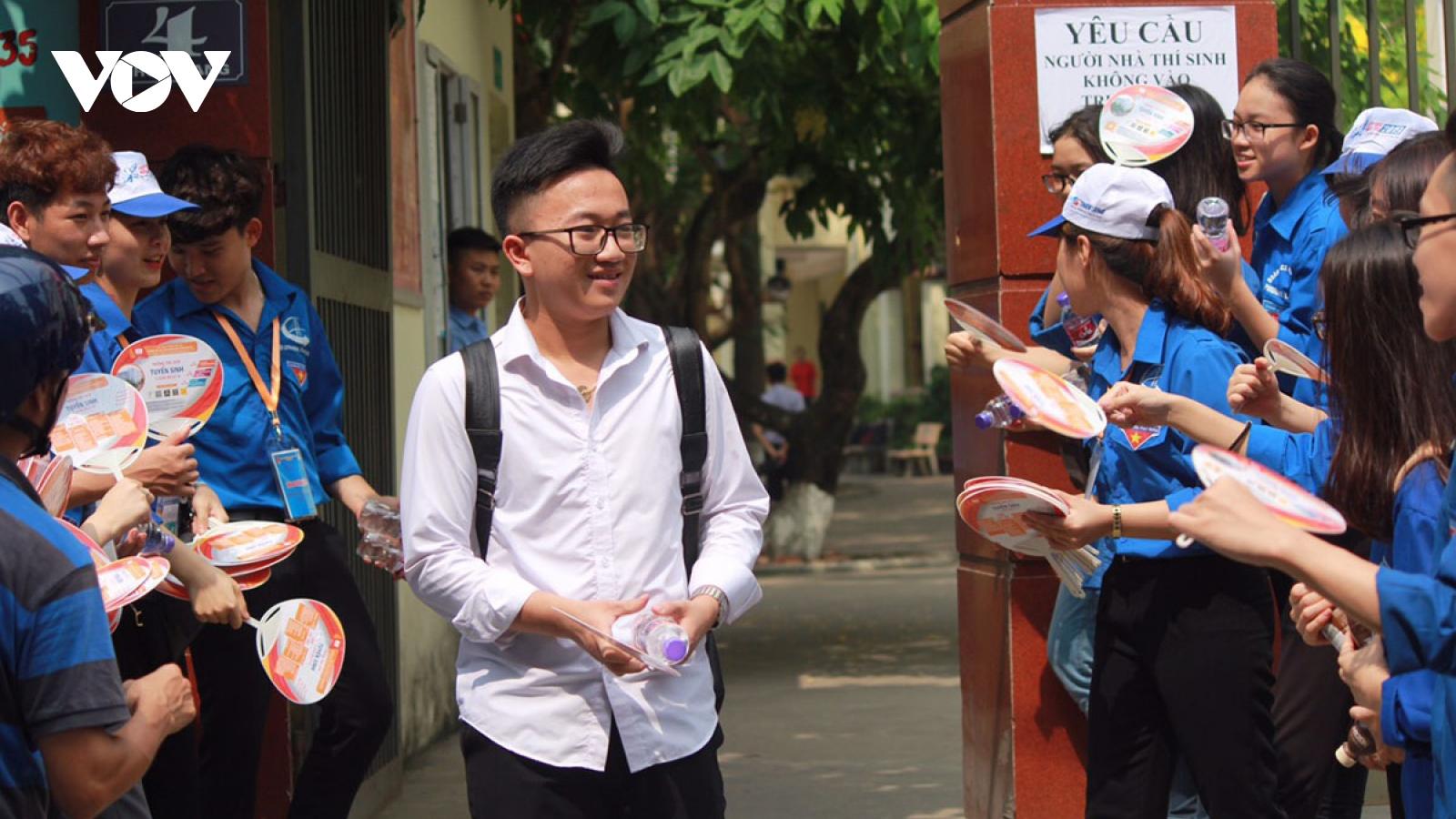 Hà Nội công bố điểm thi vào lớp 10 THPT công lập năm 2021