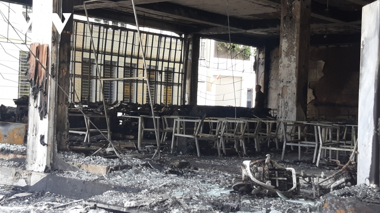 Vụ cháy kinh hoàng tại TP Vinh: 6 người tử vong có thể do ngạt khí độc
