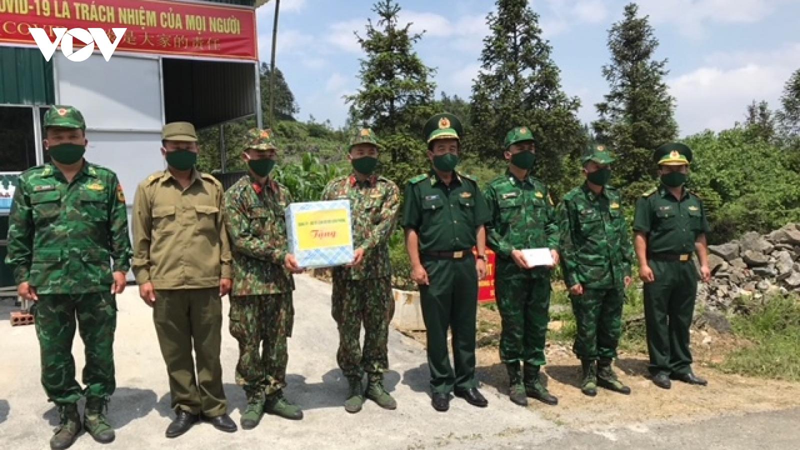 Lực lượng biên phòng bắt giữ 64 trường hợp nhập cảnh trái phép