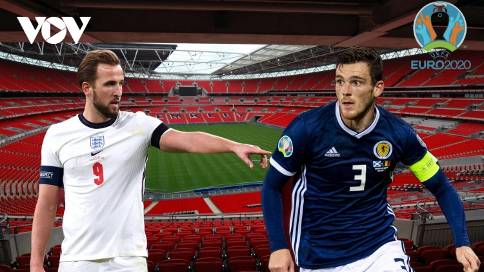 Anh - Scotland: Harry Kane đưa Tam Sư vào vòng 1/8 EURO 2021?