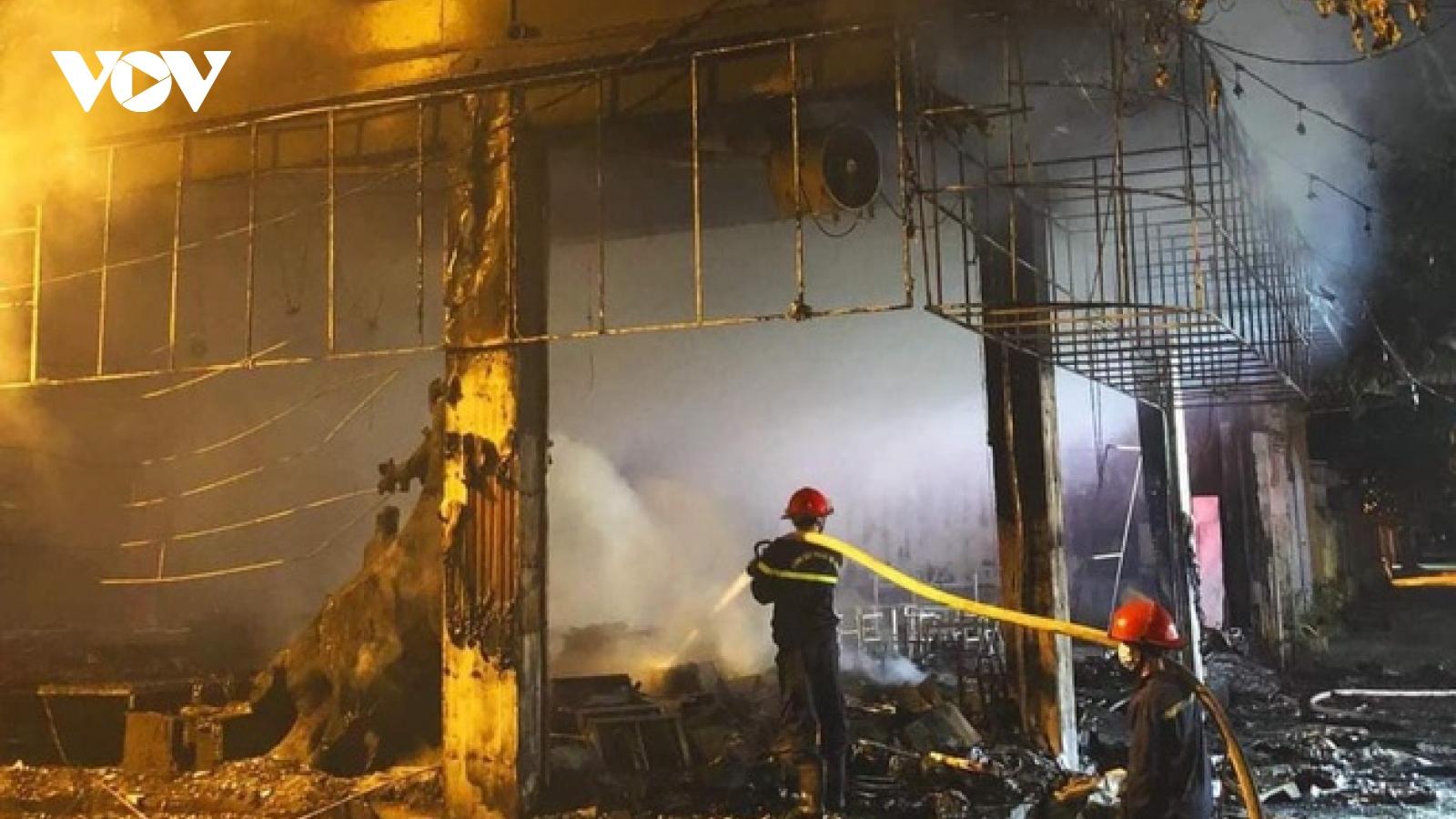 Danh tính 6 nạn nhân tử vong trong vụ hỏa hoạn kinh hoàng tại TP Vinh