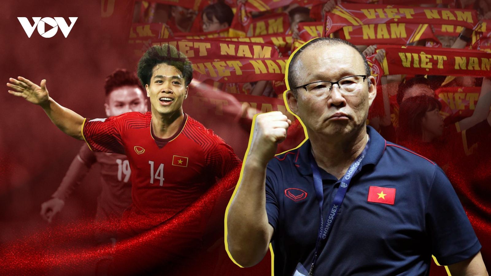 Vòng loại World Cup 2022 khu vực châu Á: Cờ đến tay HLV Park Hang Seo