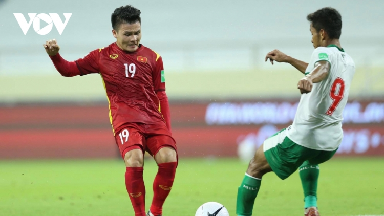 National football team receive reward for victory over Indonesia