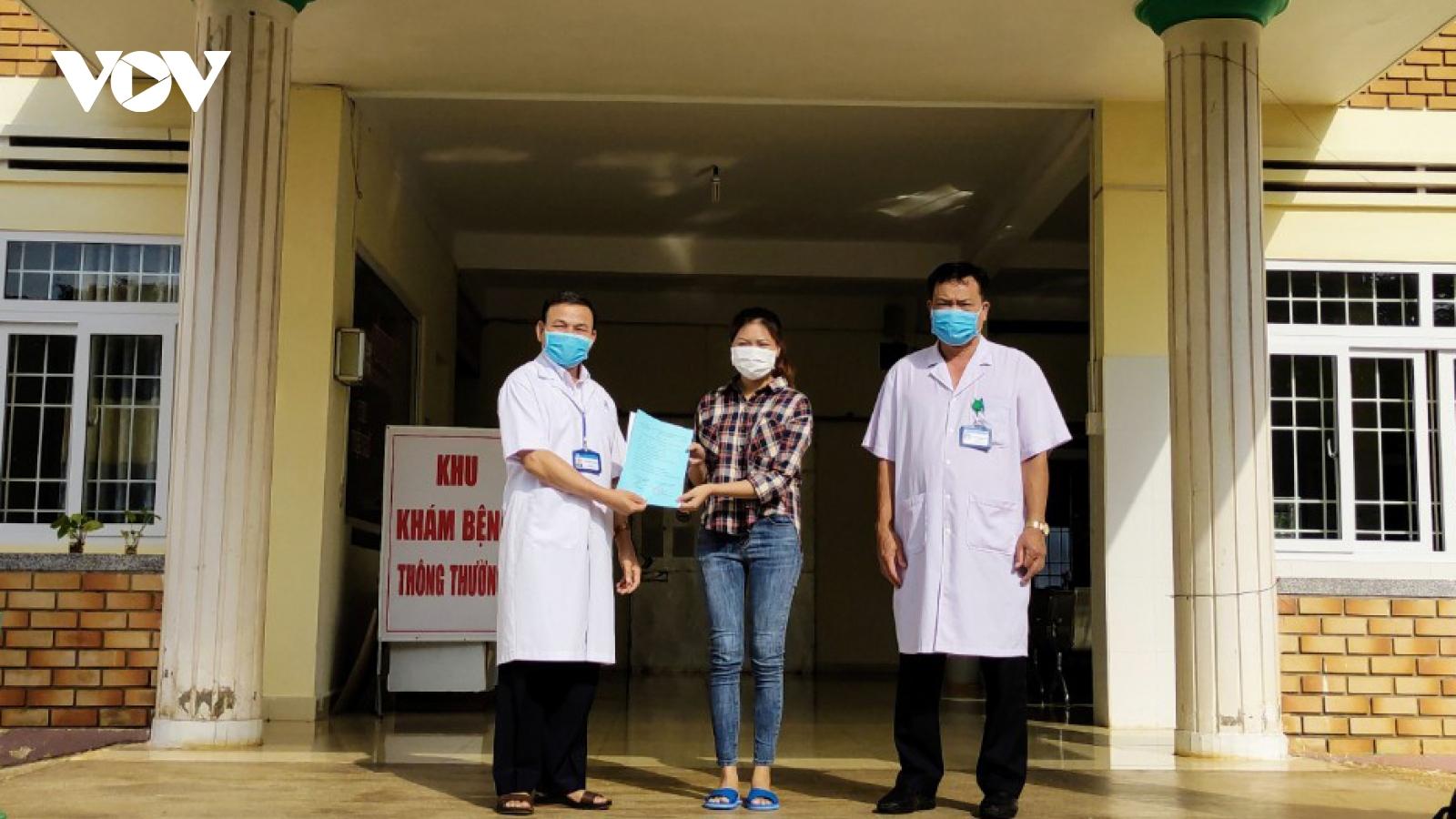 Bệnh nhân mắc COVID-19 ở Đắk Lắk đã xuất viện sau 21 ngày điều trị