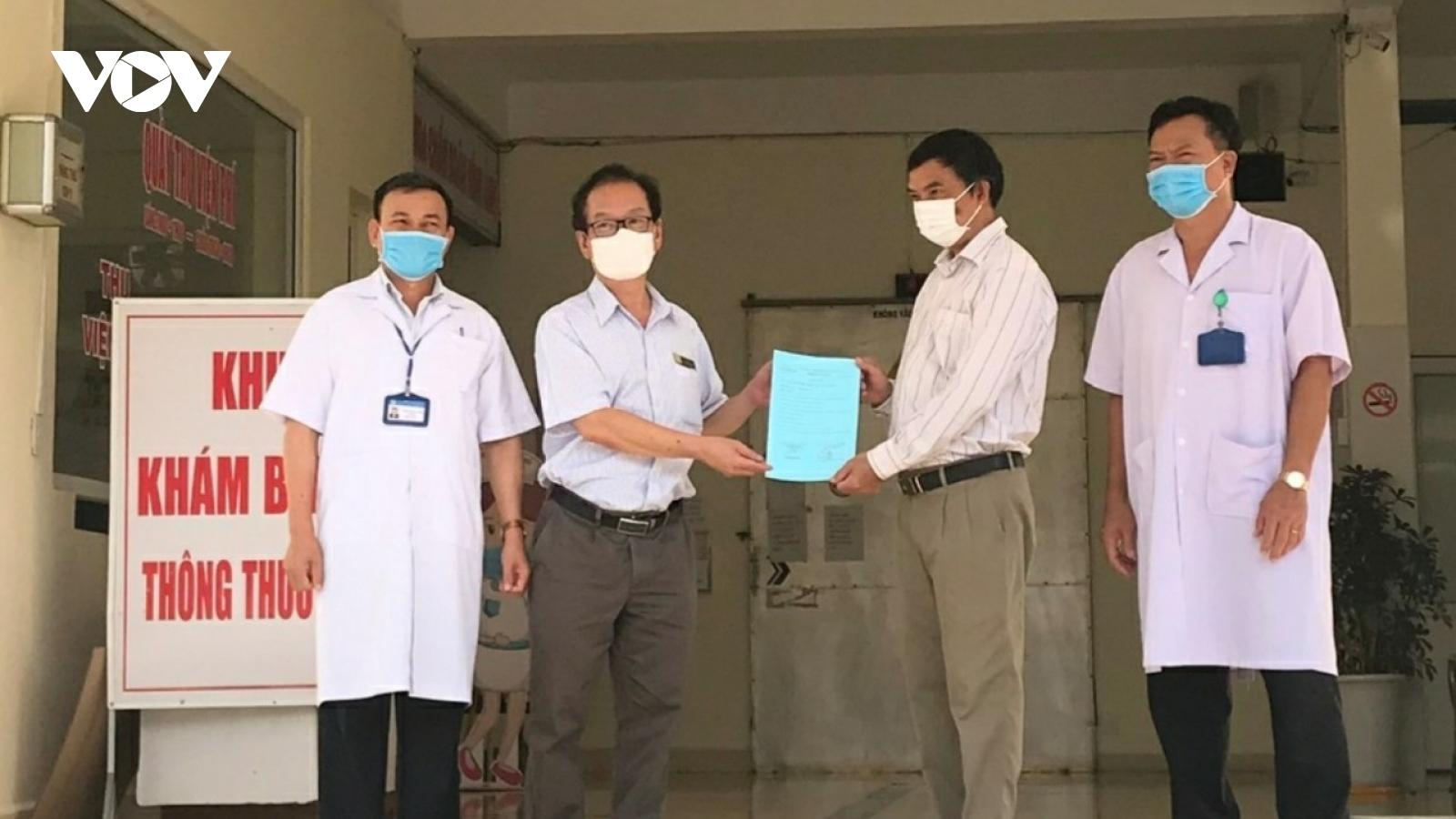 Bệnh nhân COVID-19 nguy kịch ở Đắk Lắk đã được xuất viện