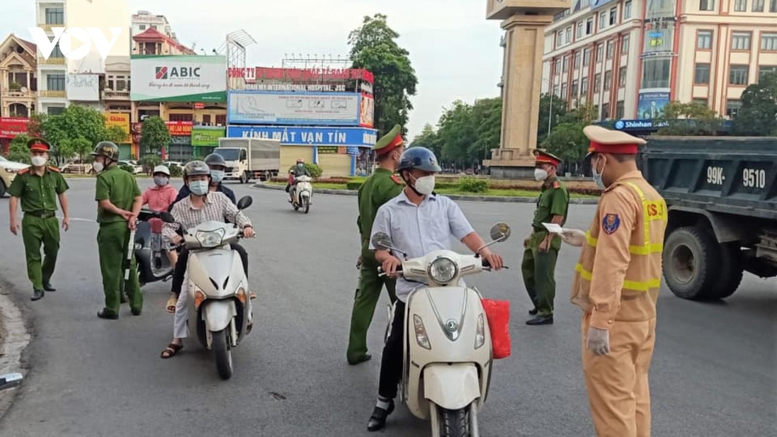 Bắc Ninh xử lý trách nhiệm lãnh đạo nếu để cán bộ vi phạm cách ly xã hội