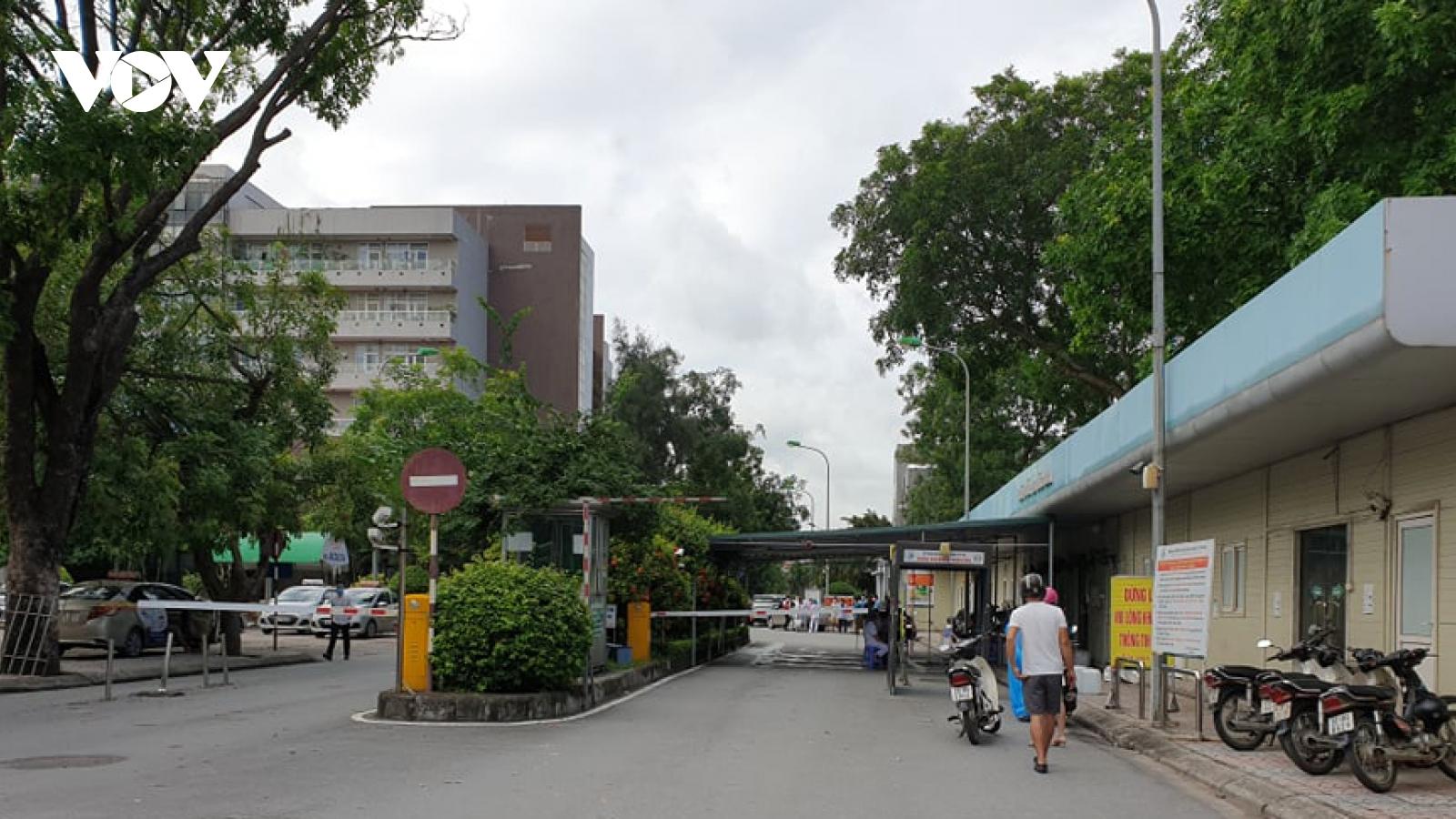 350 người ở Bệnh viện Đa khoa Đức Giang âm tính với SARS-CoV-2