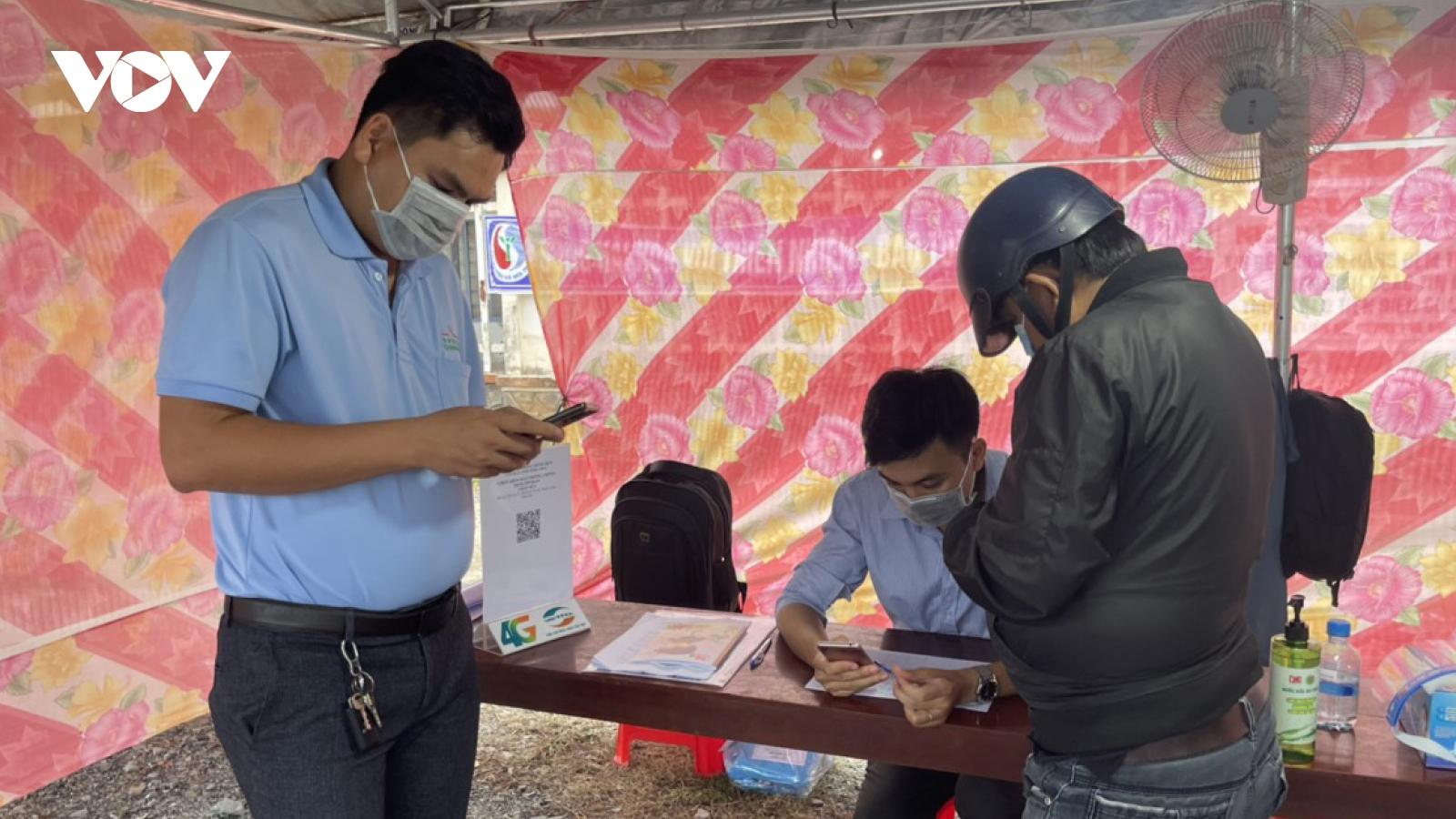 Phát hiện 4 ca dương tính, trong đó có 1 ca lây nhiễm trong cộng đồng ở Vĩnh Long