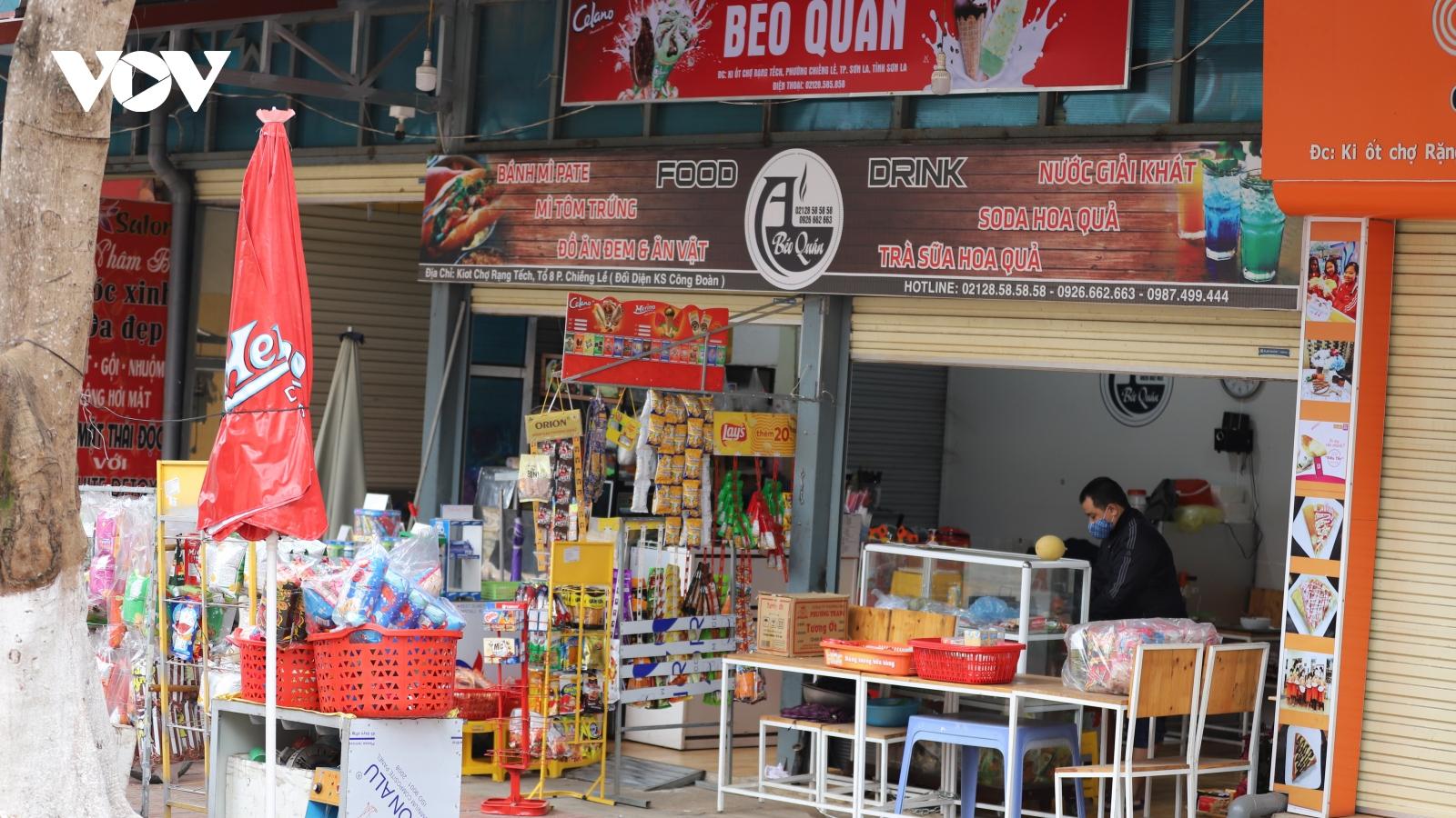 Sơn La cho phép một số loại hình kinh doanh hoạt động trở lại