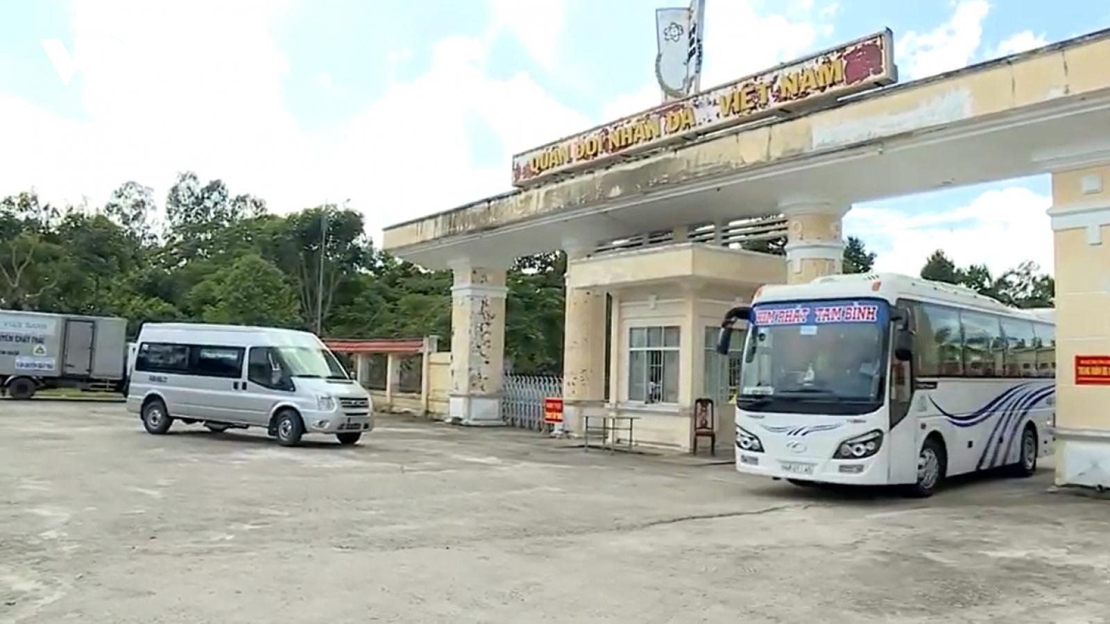 25 trường hợp F1 ở Vĩnh Long đều âm tính với SARS-CoV-2