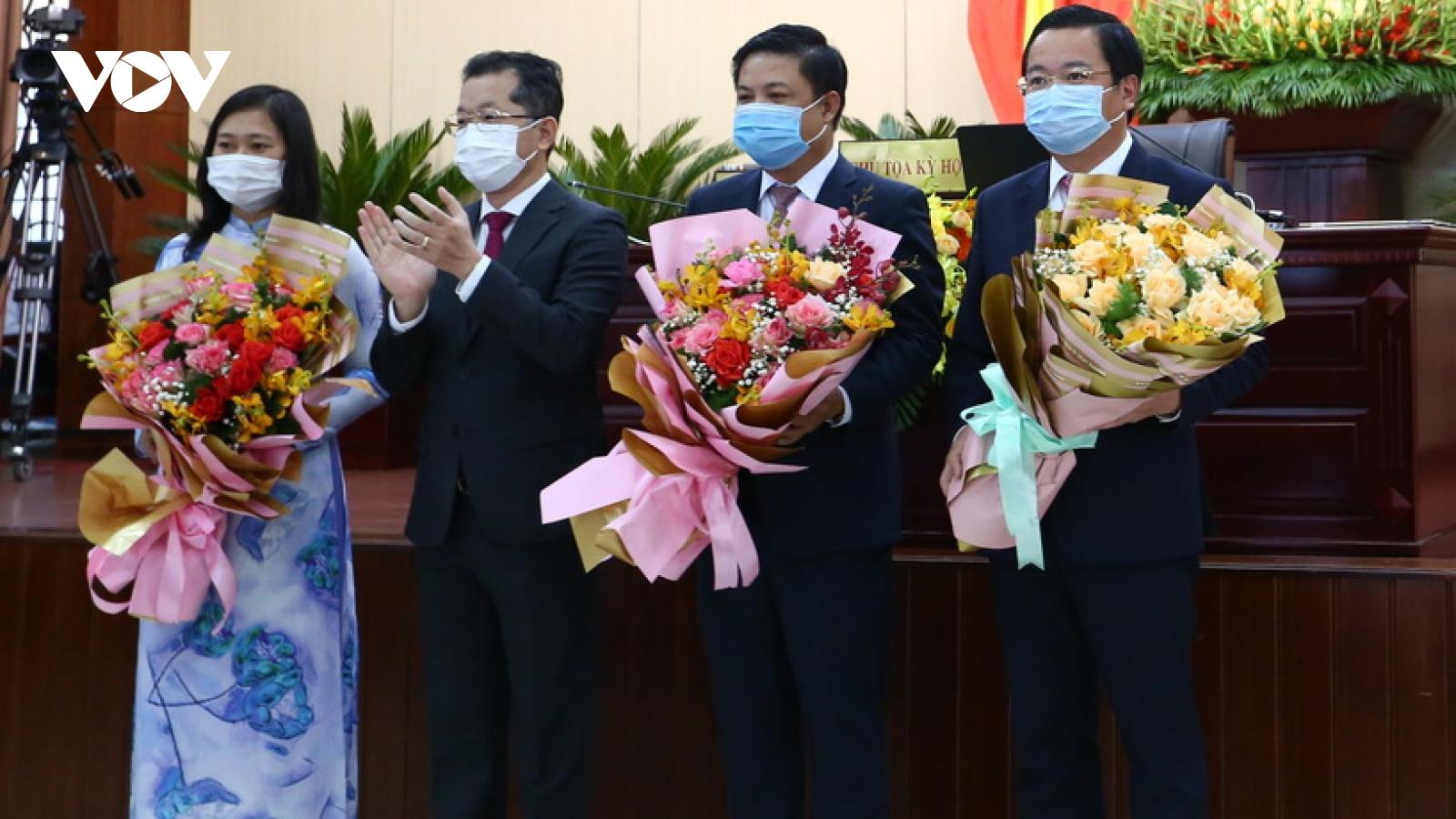 Đà Nẵng bầu các chức danh chủ chốt HĐND và UBND nhiệm kỳ mới