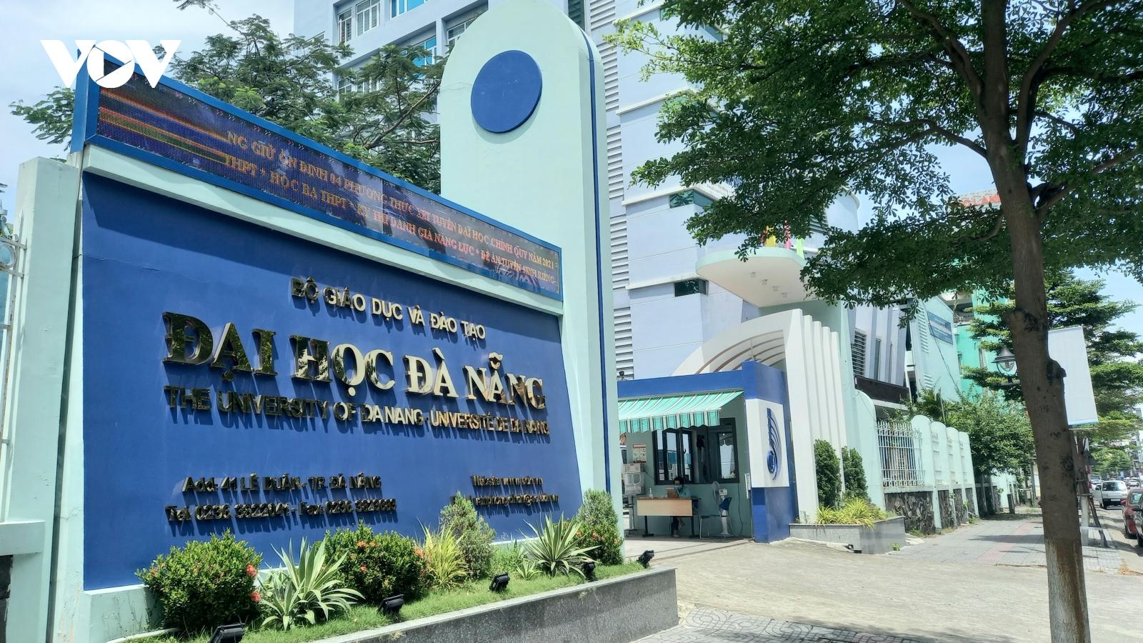 Đại học Đà Nẵng dự phòng phương án tuyển sinh trong tình hình dịch
