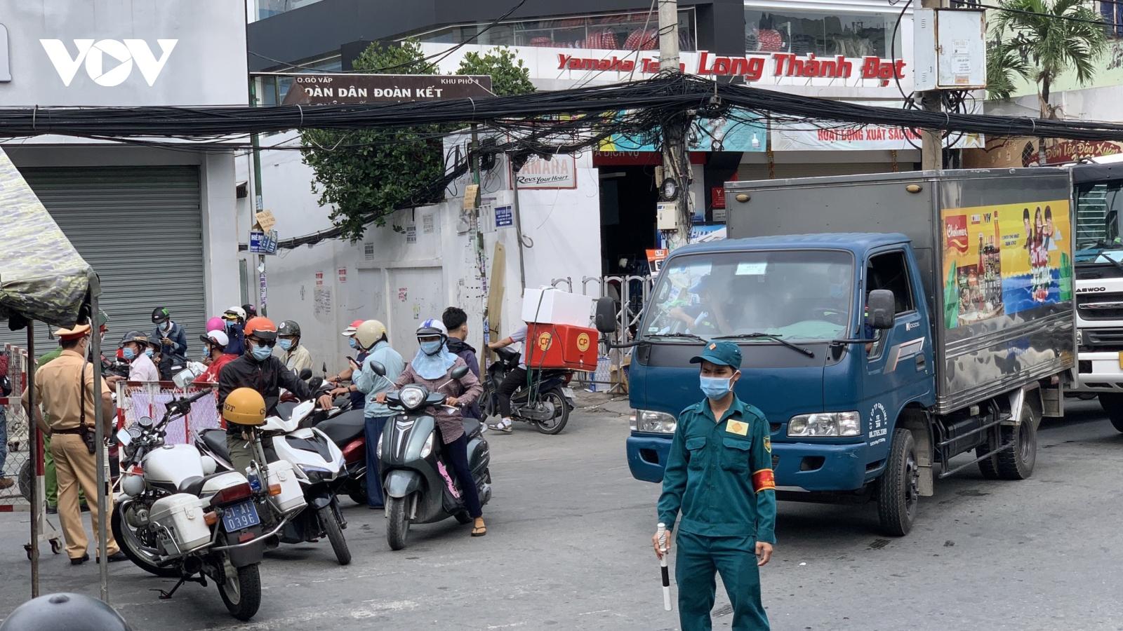 TP.HCM xem xét việc giãn cách xã hội ở quận Gò Vấp và Quận 12