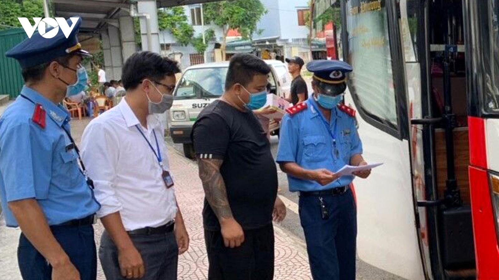 Bến xe Lai Châu từ chối phục vụ 10 lái, phụ xe vi phạm phòng, chống dịch Covid-19