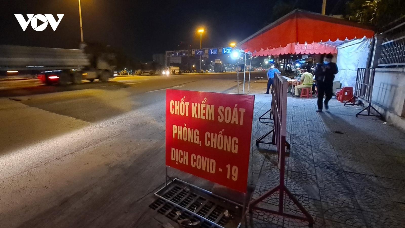 Cách ly 21 ngày với người từ TPHCM đến Đồng Nai