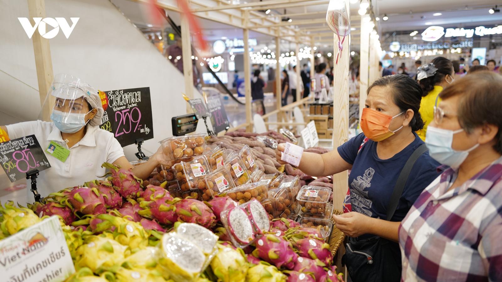 Đưa hàng Việt sang quảng bá tại Thái Lan