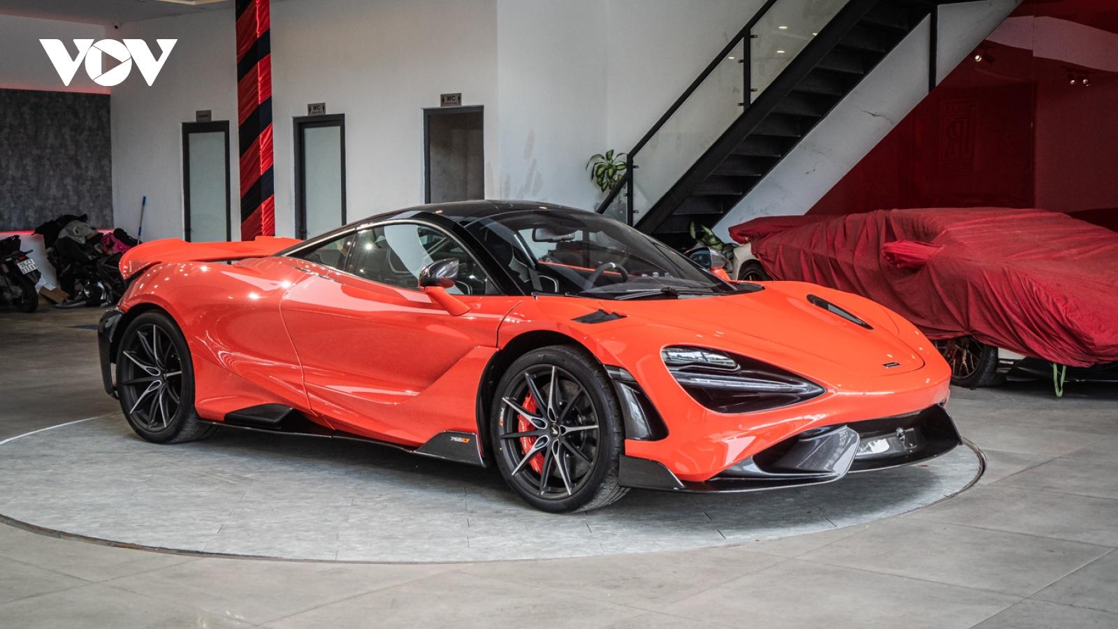 """Hình ảnh chi tiết McLaren 765LT """"màu độc"""" chỉ có 3 chiếc tại Việt Nam"""