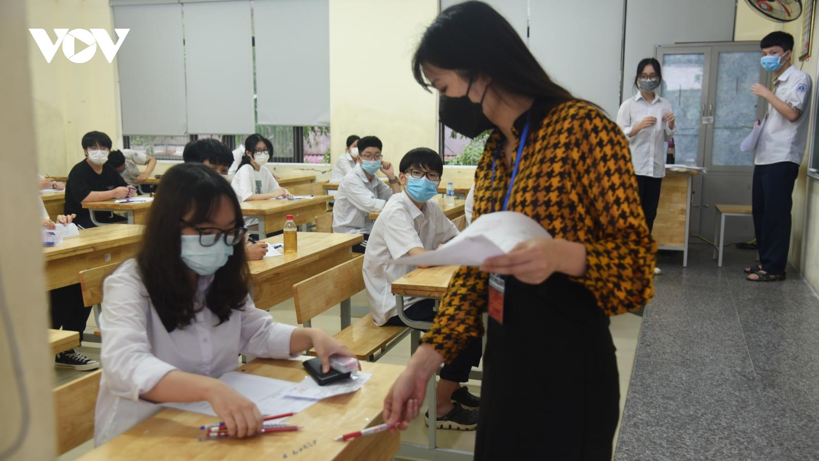 Khoảng 8.000 cán bộ, giảng viên đại học sẽ thanh tra, giám sát thi tốt nghiệp THPT