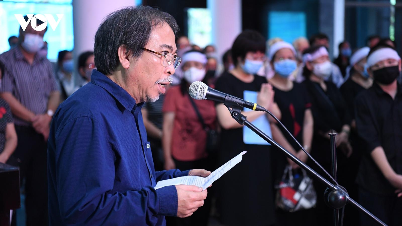 Tiễn biệt nhà văn Nguyễn Xuân Khánh - Biểu tượng nhân cách và bản lĩnh của người cầm bút