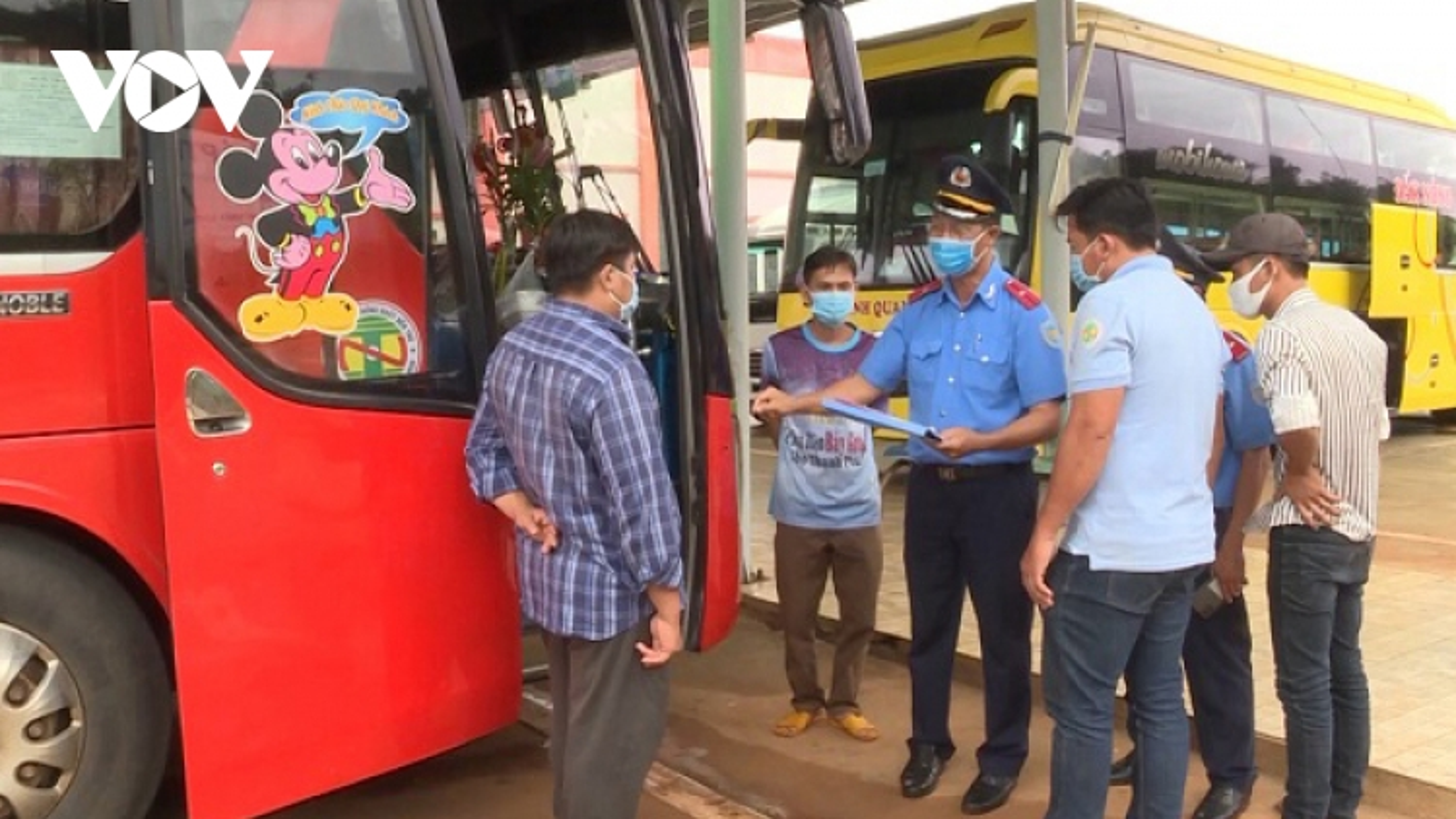 Đắk Nông tạm dừng hoạt động vận tải hành khách đi đến một số địa phương
