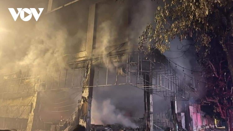 Six people killed in coffee & music lounge fire in central Vietnam