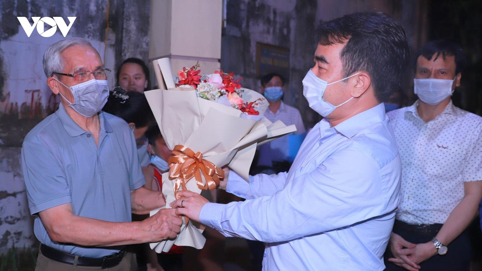 Gỡ phong tỏa tại ngõ 10 Phan Chu Trinh (Hải Phòng)liên quan ca mắc COVID-19