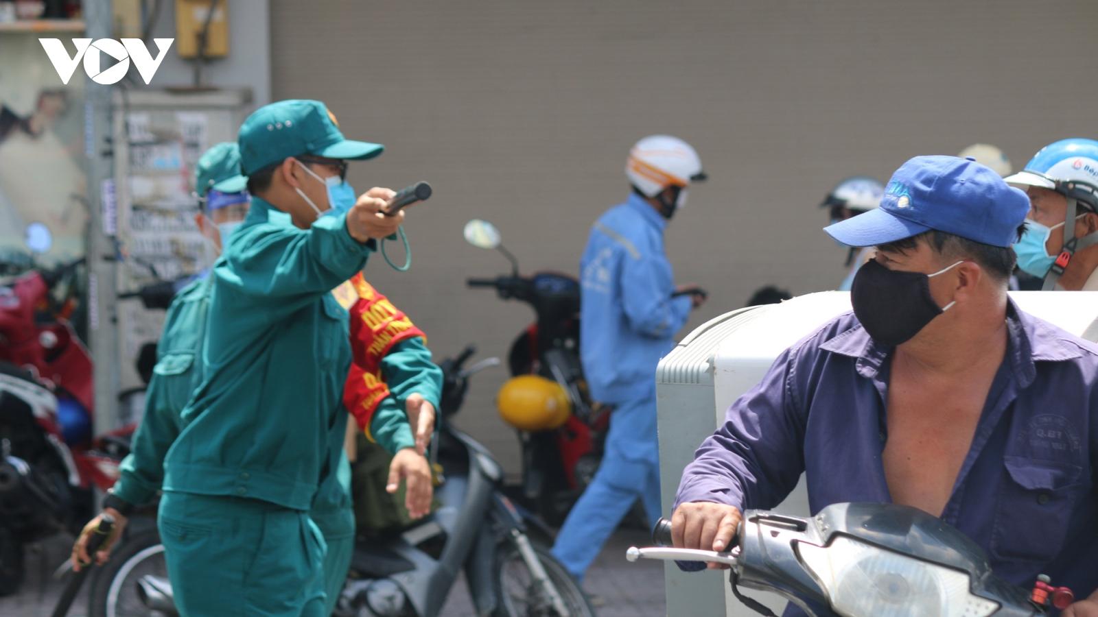 Cảnh báo nguồn lây Covid-19 có thể còn trong cộng đồng ở quận Gò Vấp