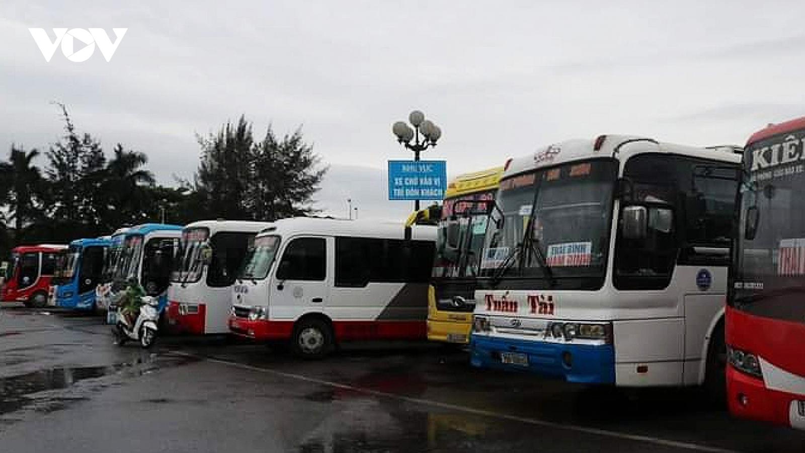 Hải Phòng tạm dừng hoạt động vận tải hành khách đi tỉnh Điện Biên và ngược lại