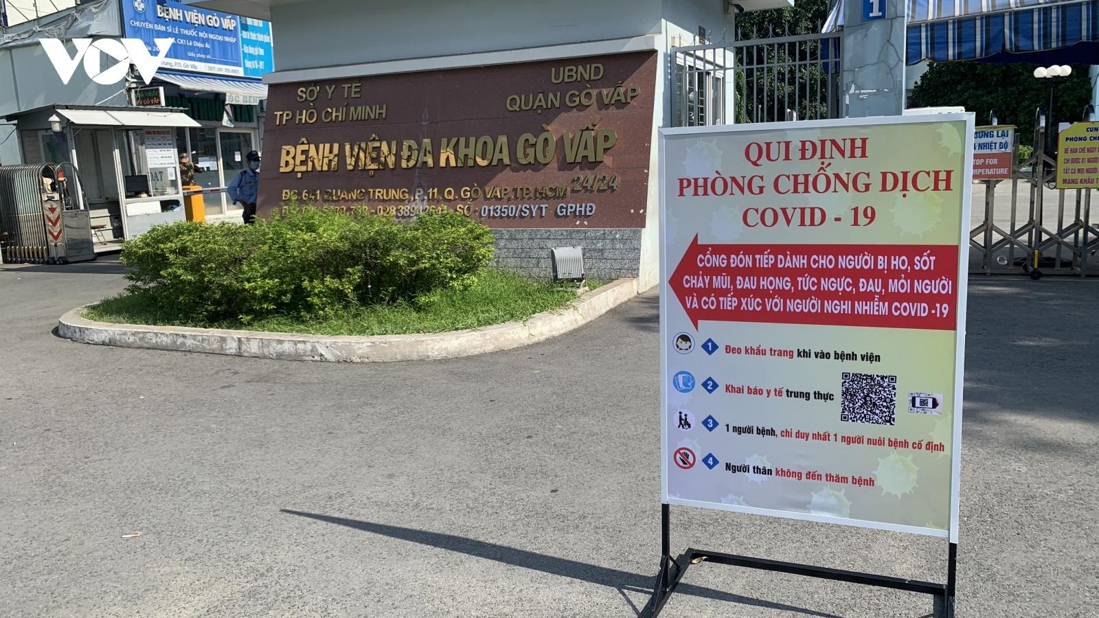 Sở Y tế TP.HCM lên tiếng về bệnh nhân mắc Covid-19 tử vong trên đường chuyển viện