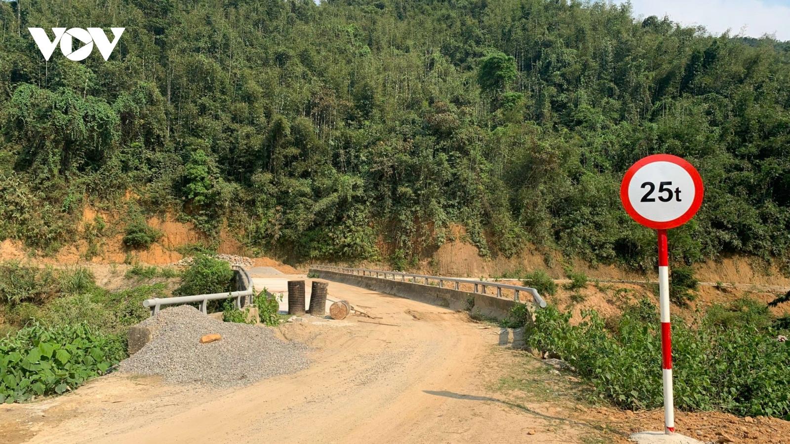 Khắc phục thất thoát, lãng phí: Hoàn thành tuyến đường liên tỉnh 10 năm thi công dang dở