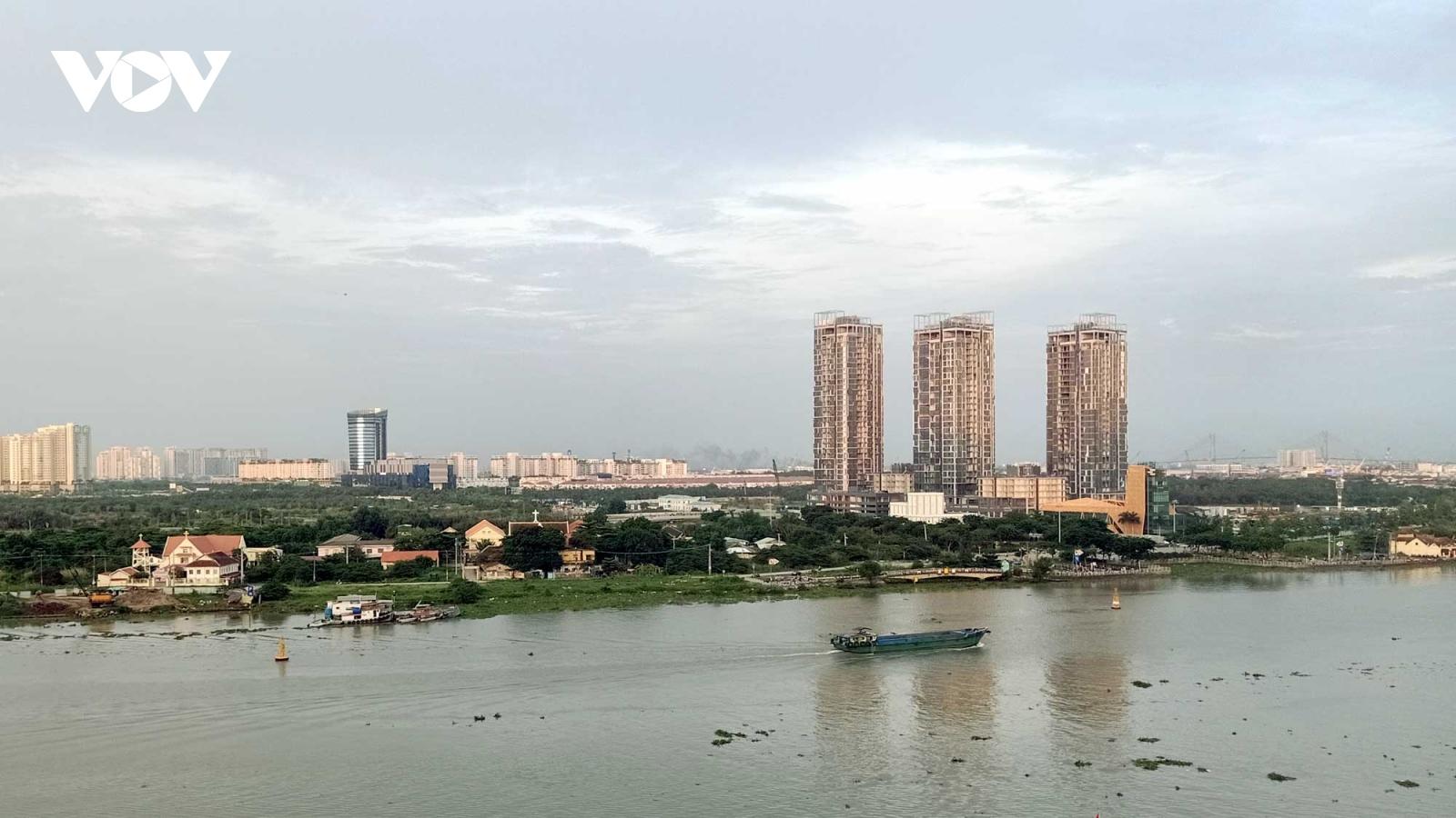 Điều chỉnh quy hoạch khu đô thị kế cận Thủ Thiêm để đấu giá 30 ha đất