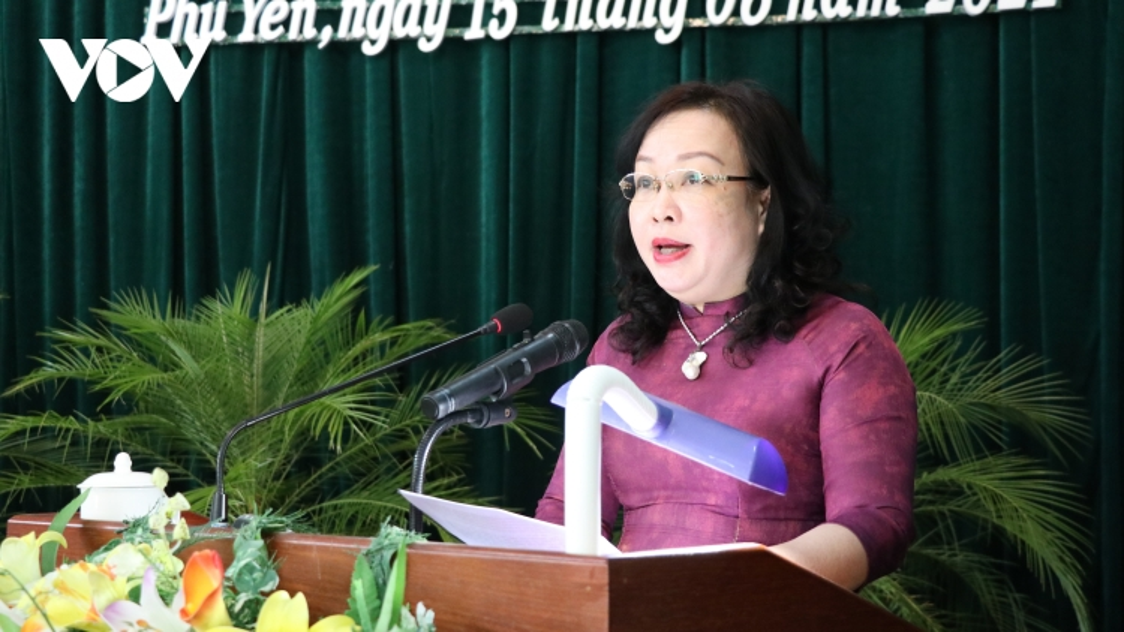 Bà Cao Thị Hòa An tái đắc cử Chủ tịch HĐND tỉnh Phú Yên