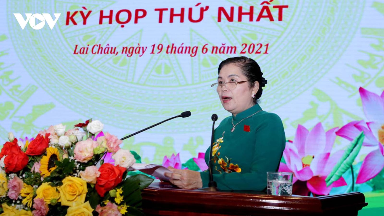 Bà Giàng Páo Mỷ tái đắc cử Chủ tịch HĐND tỉnh Lai Châu