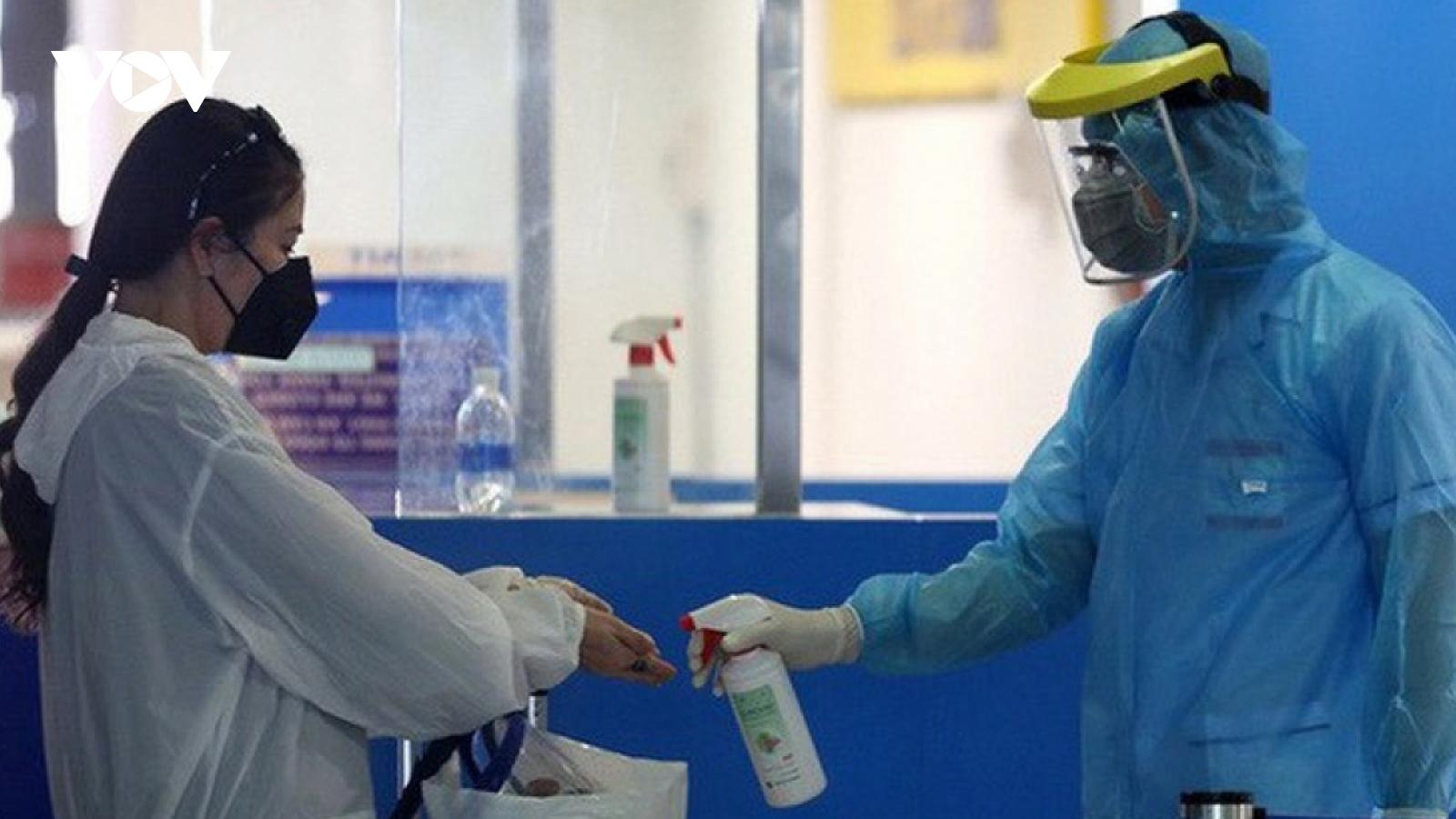 6 giờ qua, có thêm 109 ca mắc COVID-19 trong nước tại 8 tỉnh, thành