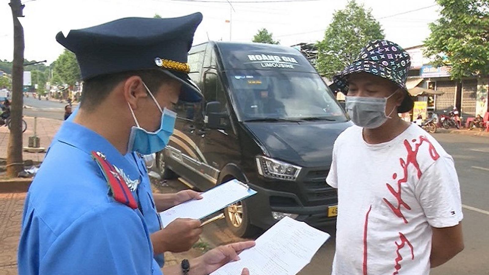 Đắk Nông tạm dừng vận tải hành khách đi thành phố Đà Nẵng, Bình Dương