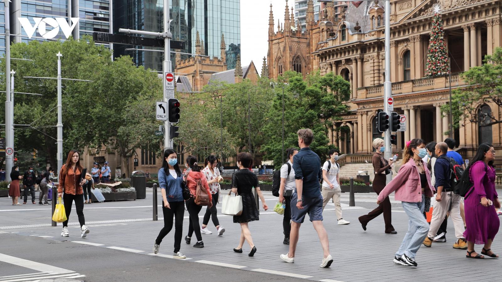 OECD nâng mức dự báo tăng trưởng kinh tế của Australia