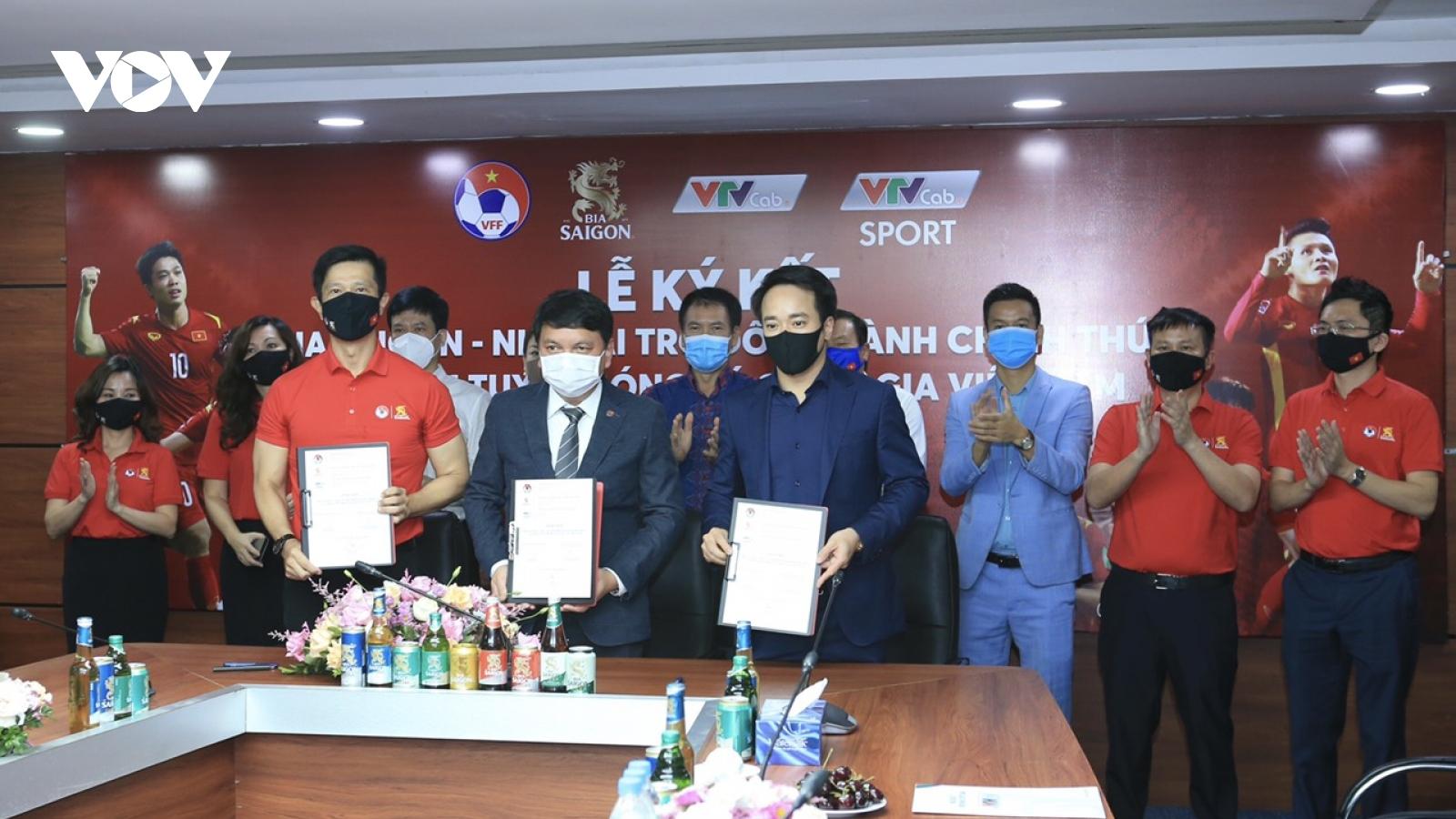 ĐT Việt Nam chính thức có thêm đối tác đồng hành