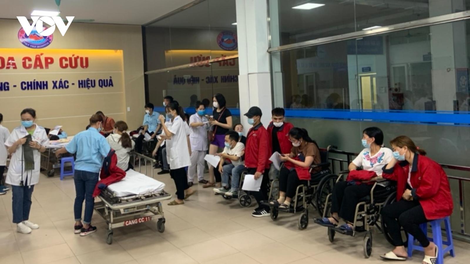 Vụ công nhân ngộ độc tập thể ở Hải Phòng: Xử phạt doanh nghiệp cung cấp thực phẩm