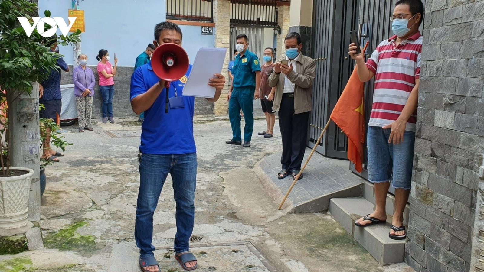TPHCM gỡ phong tỏa hẻm có trụ sở của điểm nhóm truyền giáo Phục Hưngtại quận Gò Vấp