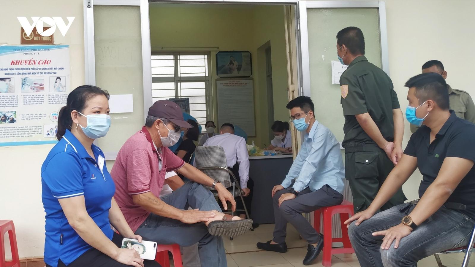 Quảng Ninh chuẩn bị triển khai tiêm 13.120 liều vaccine phòng Covid-19 đợt 3