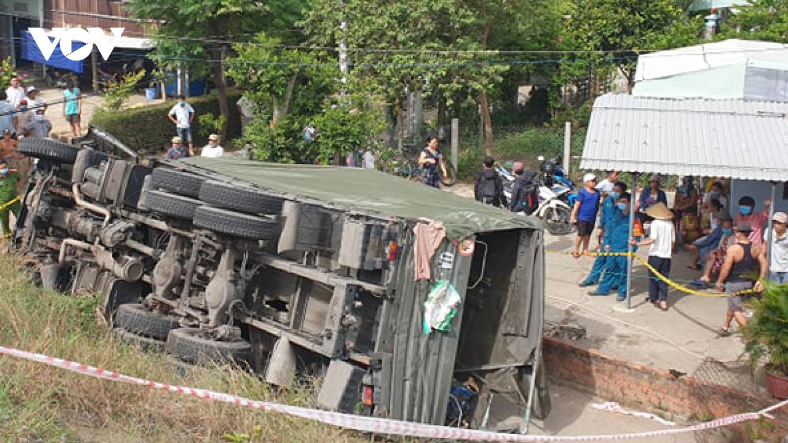 Tai nạn giao thông trên QL1 tại Quảng Nam khiến 2 người chết